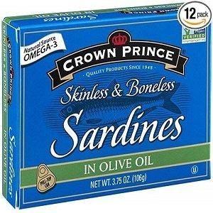 crown prince skinless sardines