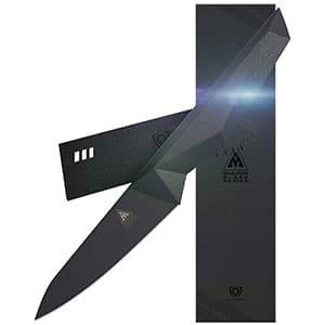 dalstrong black titanium nitride coated knife