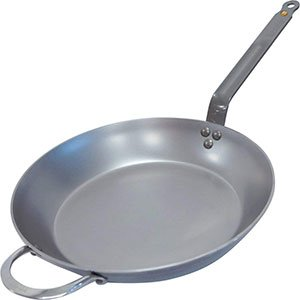 de buyer carbon steel fry pan
