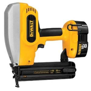 dewalt 18 gauge brad nailer kit