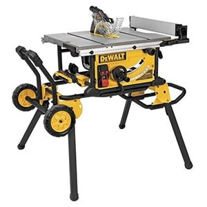 dewalt table saw rip capacity