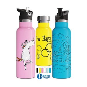 double walled vacuum insulated bottle