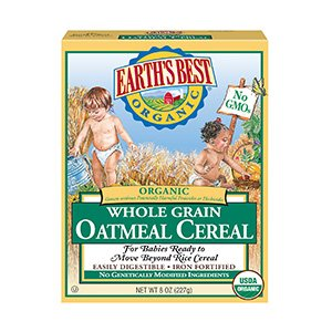 earths best organic infant cereal