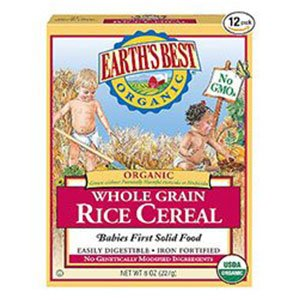 Earth's Infant Cereal