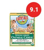 earths infant oatmeal cereal