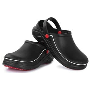 fanture men slip chef clogs shoes