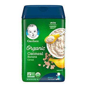gerber baby cereal oatmeal cereal