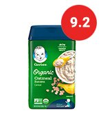 gerber baby oatmeal cereal