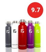 glacier insulated water bottle