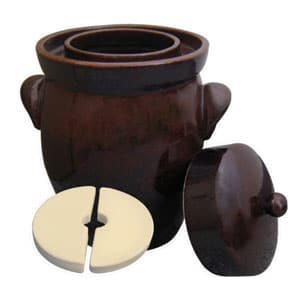 keramik fermenting crock pot
