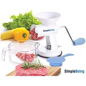 Manual Meat Grinder Set