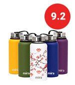 mira insulated water bottle