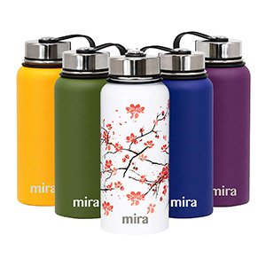mira vacuum insulated water bottle