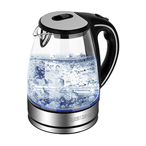 queen sense glass tea kettle