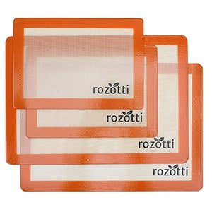 rozotti silicone baking mat bundle