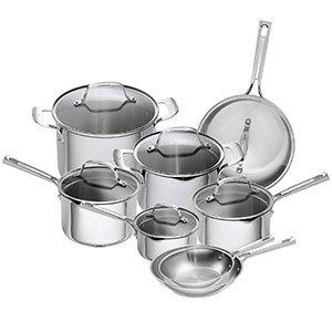 Steel Cookware Set