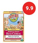 Top Organic Baby Rice Cereal