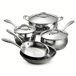 Tri-ply Base Cookware Set