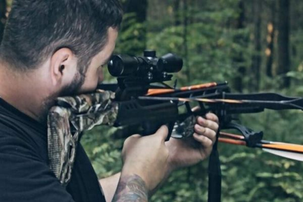 can i use a rifle scope on crossbow