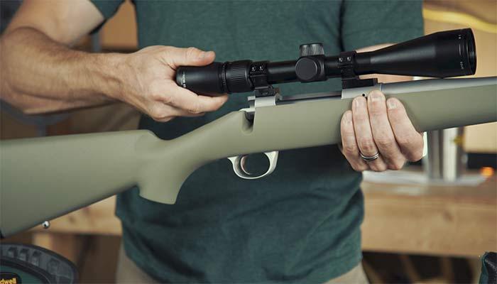 how to mount riflescope