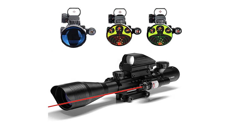 illuminated reticles for hunting