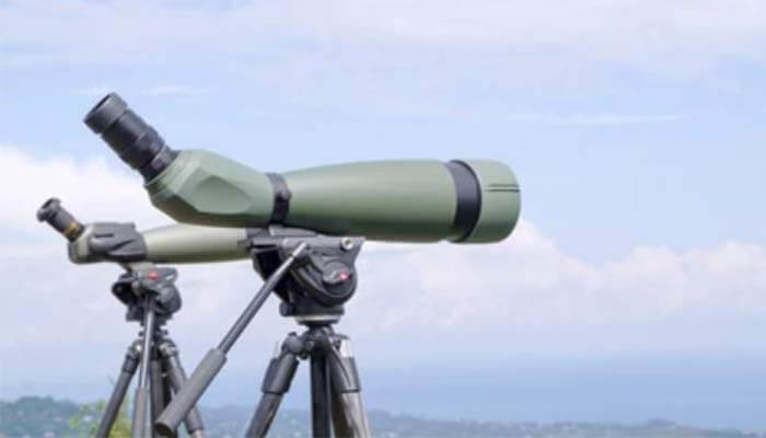 type of spotting scope