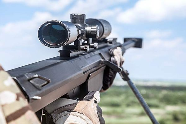 what is reticle on rifle scopes