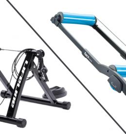 bike rollers vs turbo trainers