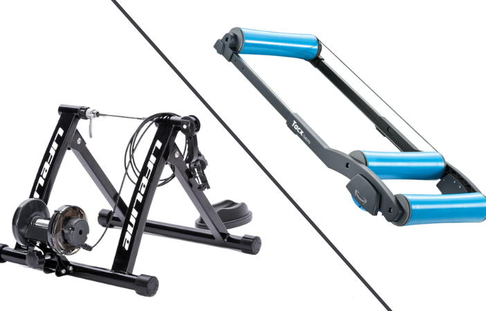 bike rollers vs turbo trainers