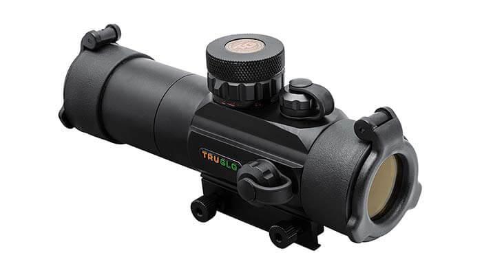rifle scope on shotgun