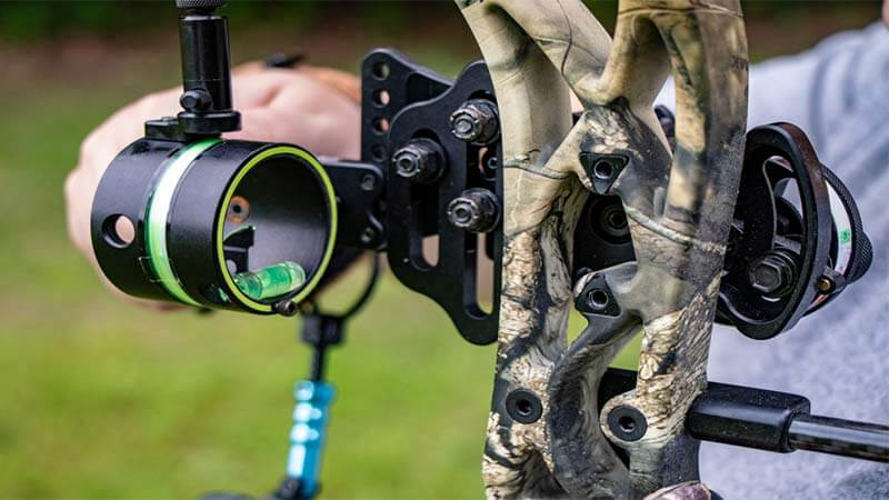 vertical pin bow sight vs horizontal