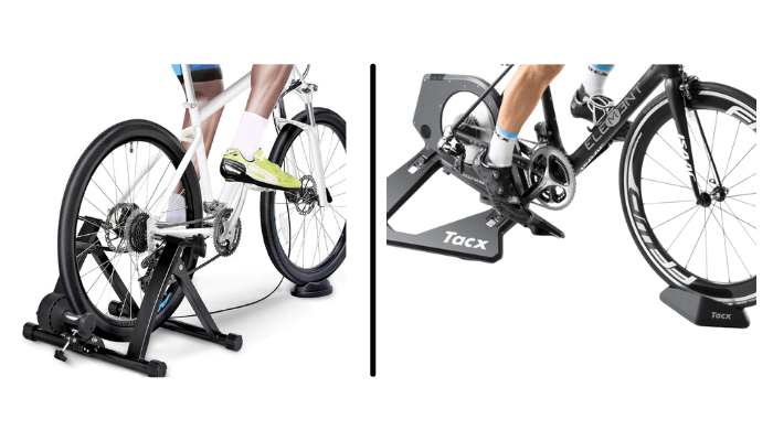 bike rollers & turbo trainers