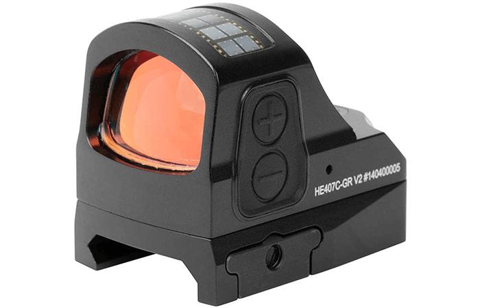 Holosun HE407C-GR V2 Micro Green Dot Optic Sight