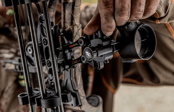 Types of Pins on a Bow Sight