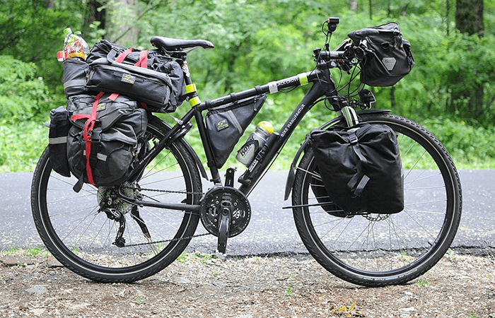 bicycle with extra cargo space