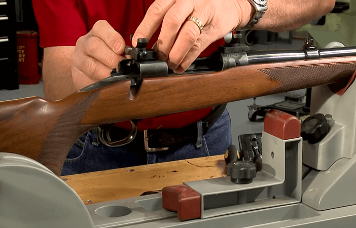 mount the riflescope