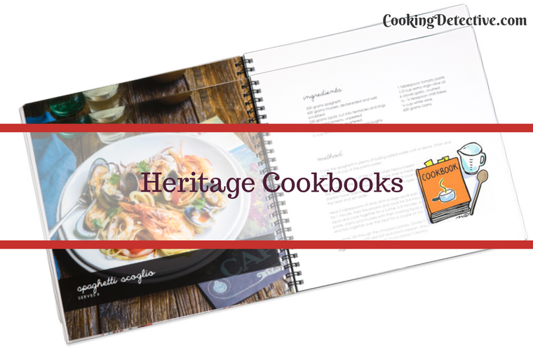 Heritage Cookbooks