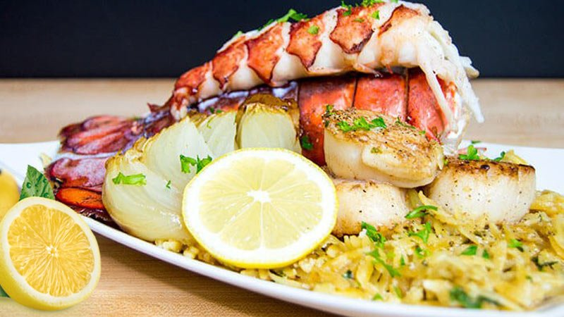 Lobster tails recipe with garlic lemon butter