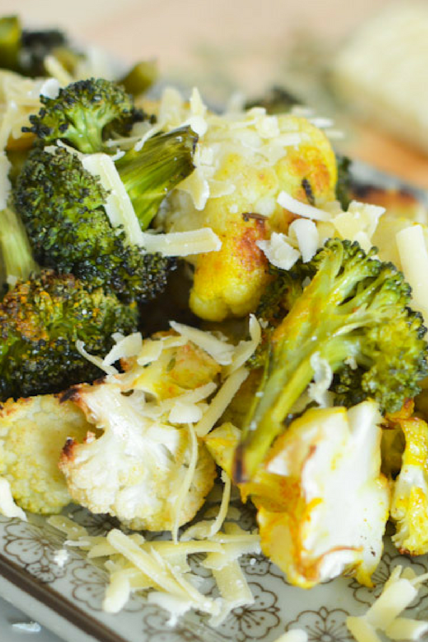 Roasted Garlic Lemon Broccoli