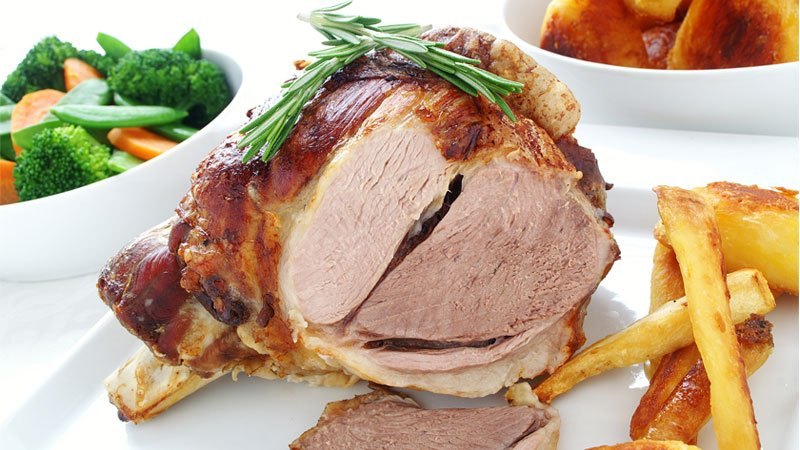 Roasted Spiced Leg of Lamb
