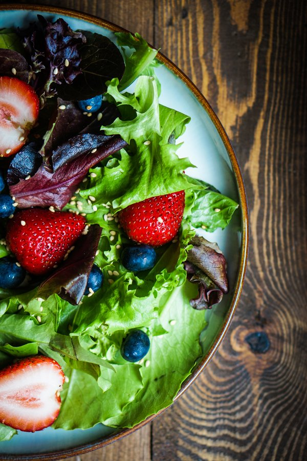 Toasted Pecan and Blueberry Salad