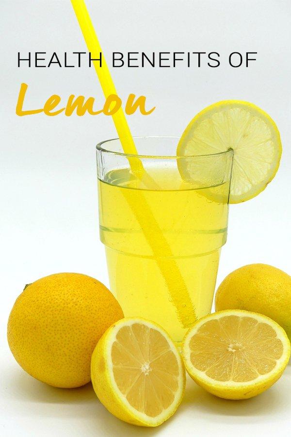 health benefit of lemon