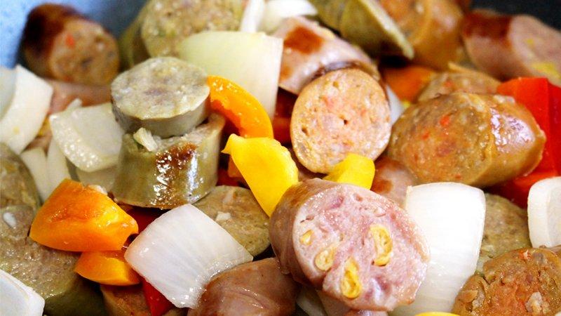 sausage-on-top